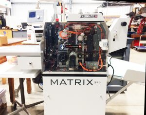 Matrix 370 Hydraulic Laminating/Foiling