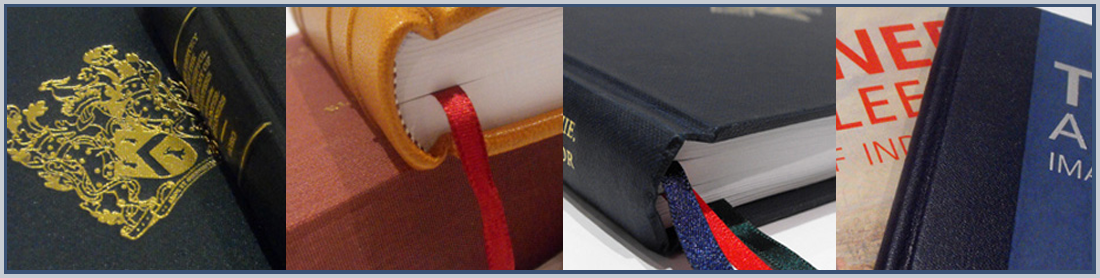 LEATHER-BINDING